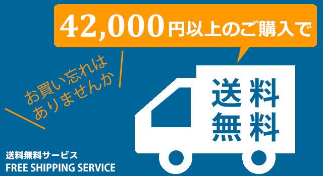 42000円以上購入で送料無料