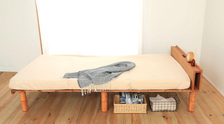 どんなお部屋も明るくオシャレに引き立ててくれるナチュラル色。