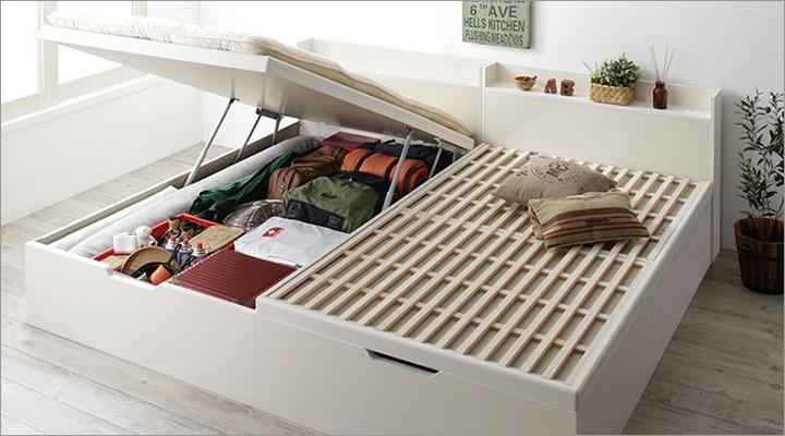 お家の中のものを何でも収納できるから、お部屋もスッキリ!