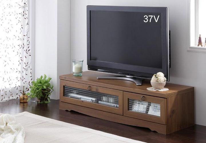 レトロデザインなテレビボード。