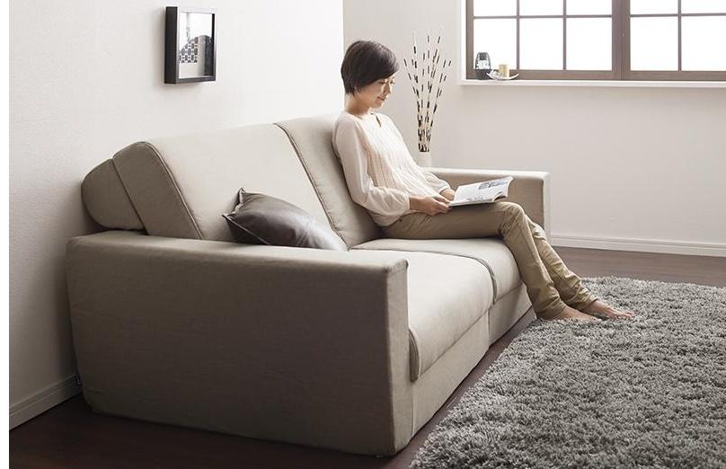 座り心地が良いソファーベッド