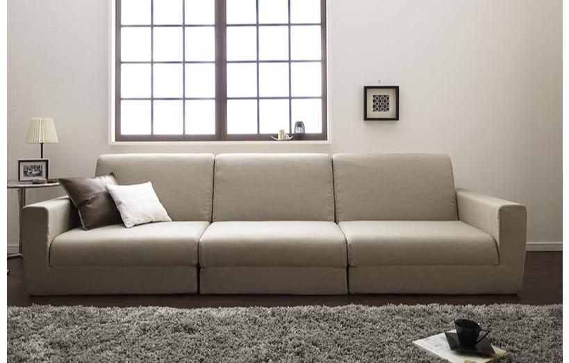 ワイドサイズのソファーベッド