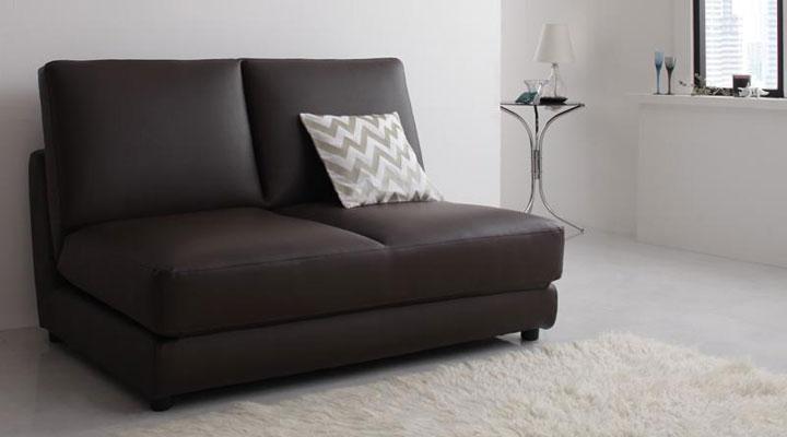 コンパクトソファーベッド。