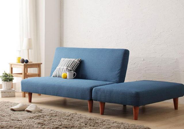 コンパクトリクライニングソファーベッド