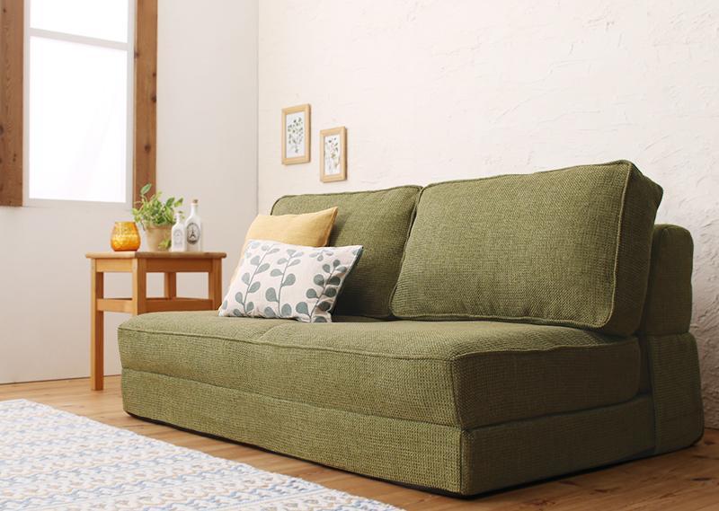 日本製折りたたみソファーベッド