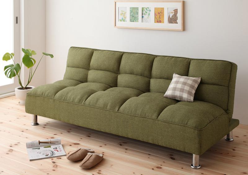 もこもこソファーベッド
