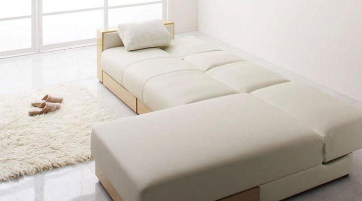 ゆったりベッド。