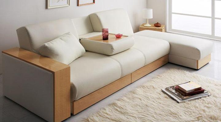 高級感があるソファーベッド。