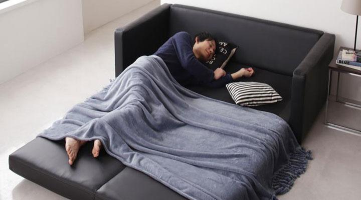 お昼寝に最適ベッド。