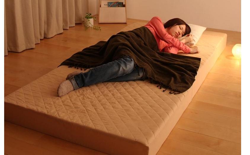 簡単ベッド