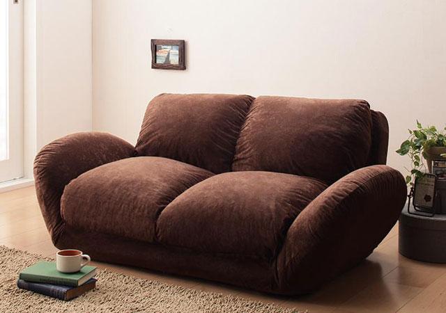 ふかふか座面のソファーベッド