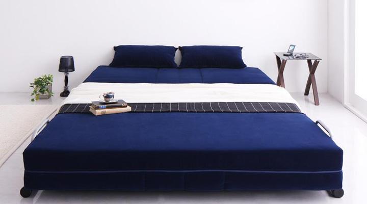 ダブルサイズソファーベッド。