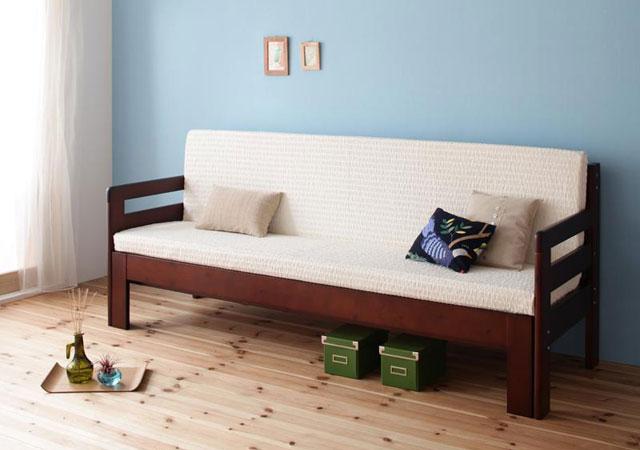 すのこソファーベッド