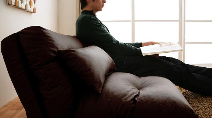 ふんわりやわらか座面。