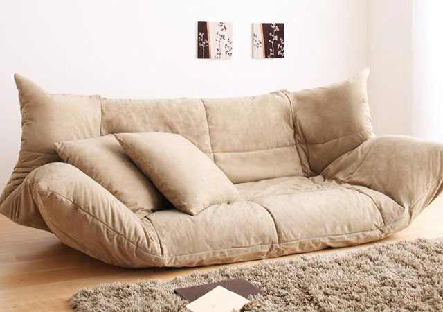 カバーが洗えるソファーベッド