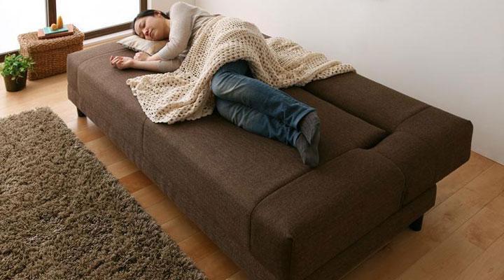 しっかりとした寝心地を実現。