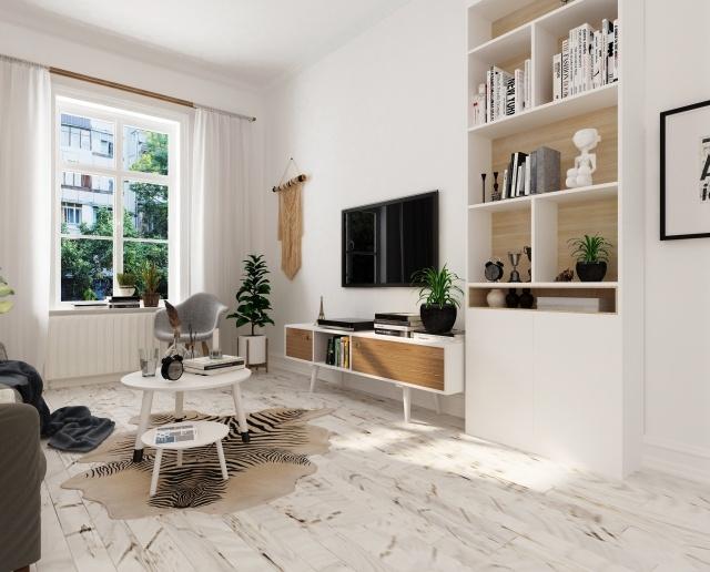 ドアの色・材質に合わせて家具を選ぶ
