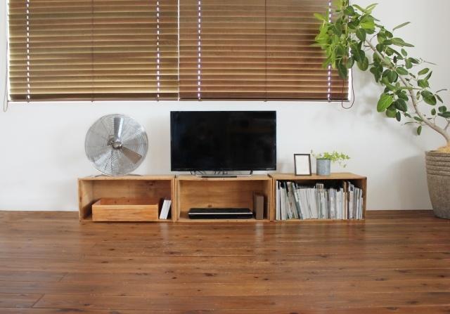 木の家具&カラーコーディネートで安く北欧インテリア!