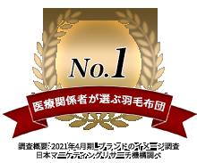 医療関係者が選ぶ羽毛布団No.1