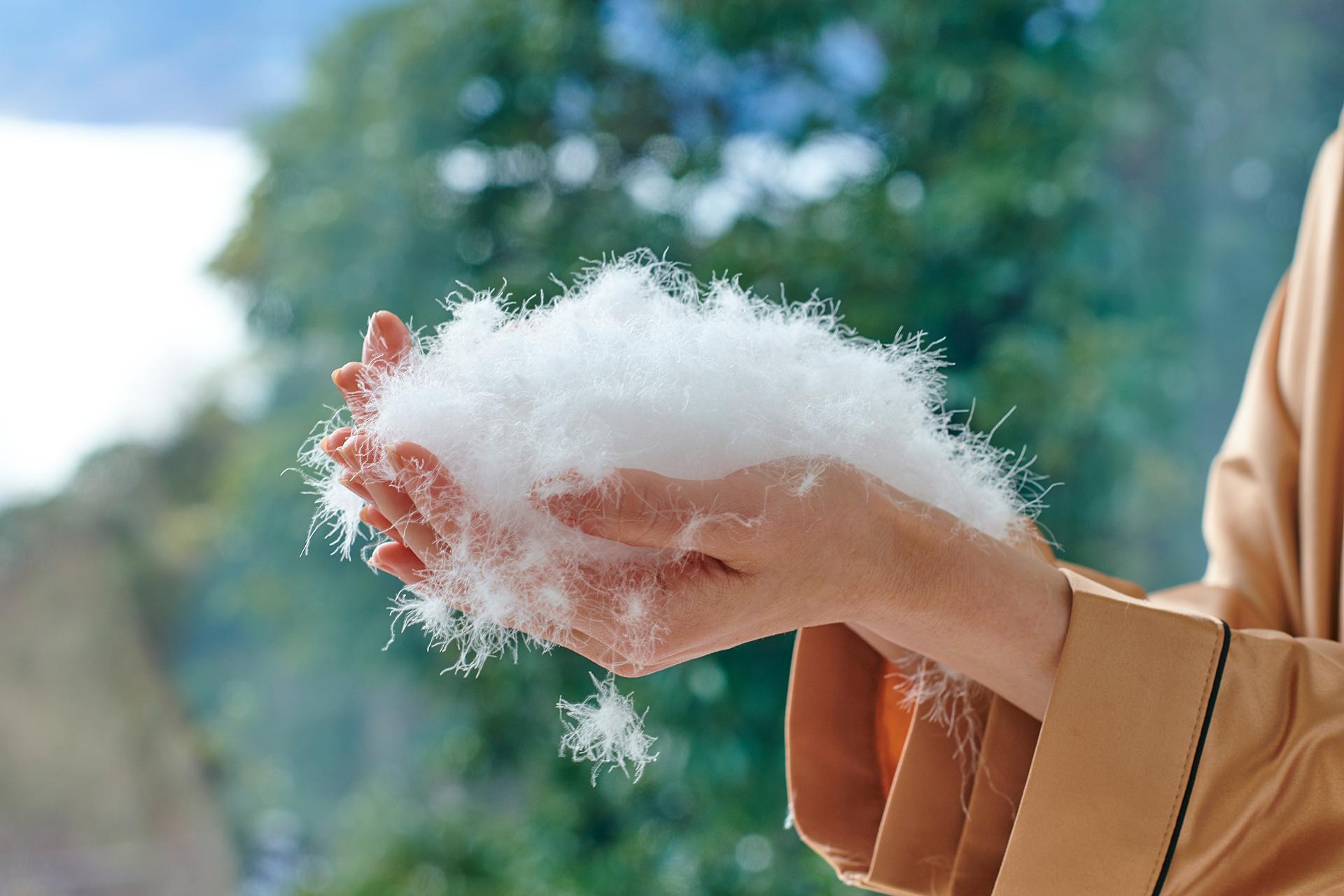 羽毛布団の解体洗いリフォーム