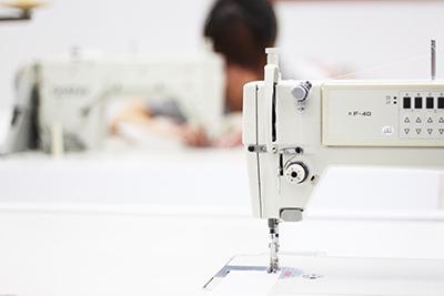 縫製も国産